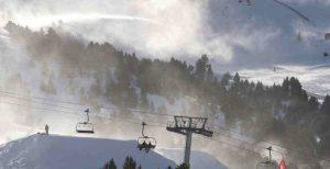 Andorra ski lifts Europe