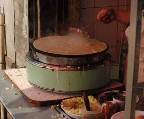 Beijing Street Food vendor Stand breakfast