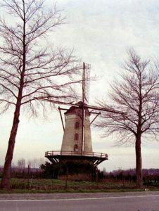 east Flanders windmill