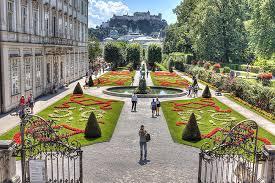 gardens in mirabell palace Saltzburg