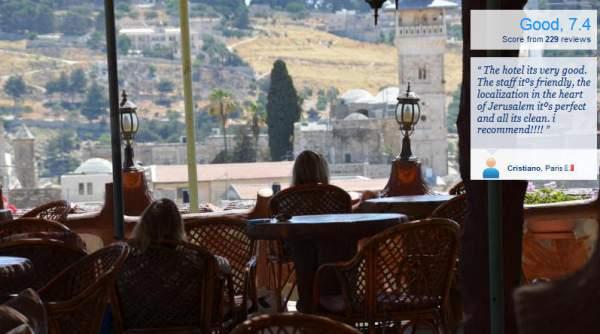 hashimi hotel jerusalem Back Packing