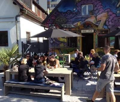 Ljubljana cafe Slovenia