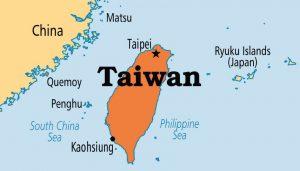 map Taiwan