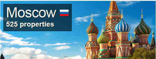 Moscow destinations Russia