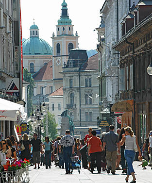old town in Slovenia