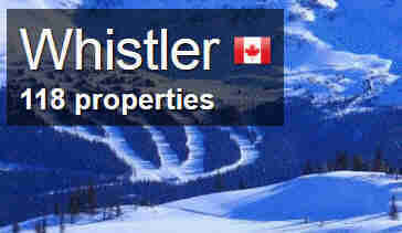 whistler bookings