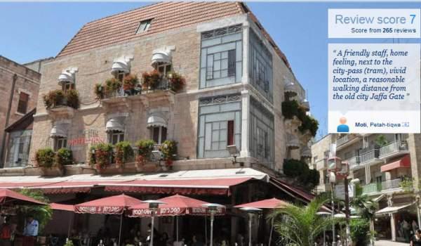 Zion hotel Jerusalem Back Packing