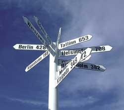 Sign Posts Blekinge