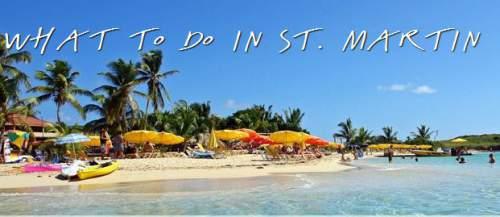 St Maartyn beach St Martin Island