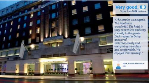 the Cumberland London Local Hotels