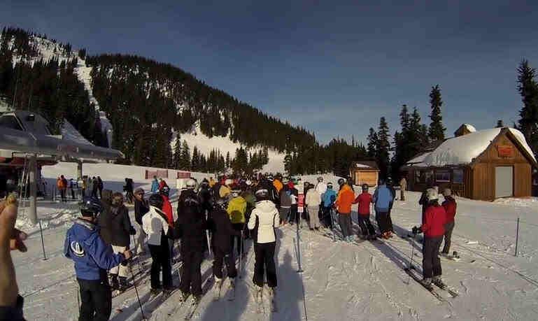 Whistler Ski Scene Whistler Skiing