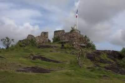 Fort St Loui St Martin Island