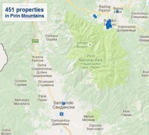Map bulgaria Activities