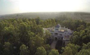 Villa Amaryllis arial