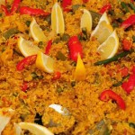 Vegetable paella Cuisine Local Dishes