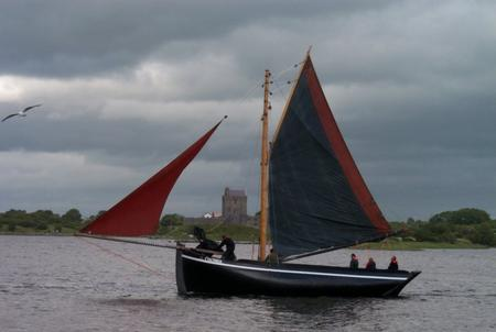 A Galway Hooker boat County Galway