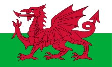 red dragon flag WALES