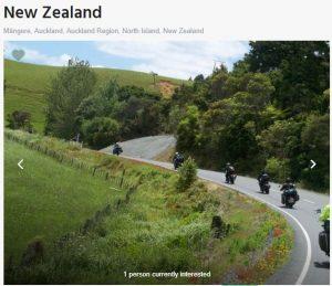 New Zealand bikers